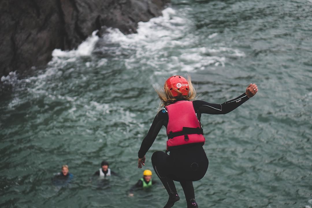 what is coasteering?