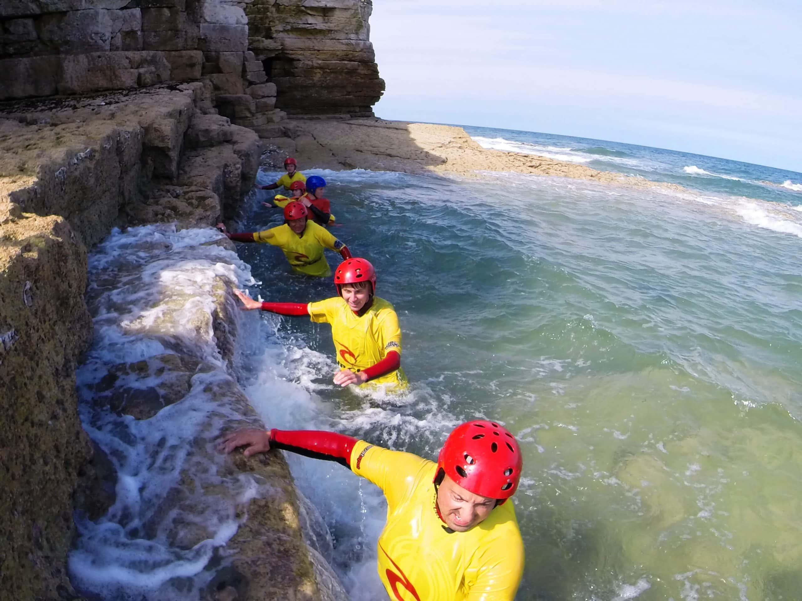 coasteering adventure guide training