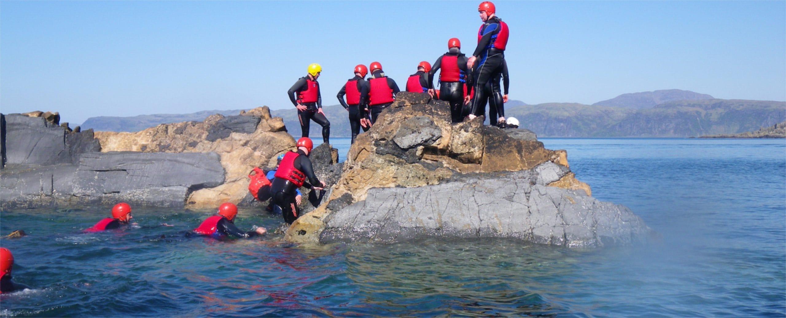 coasteering course