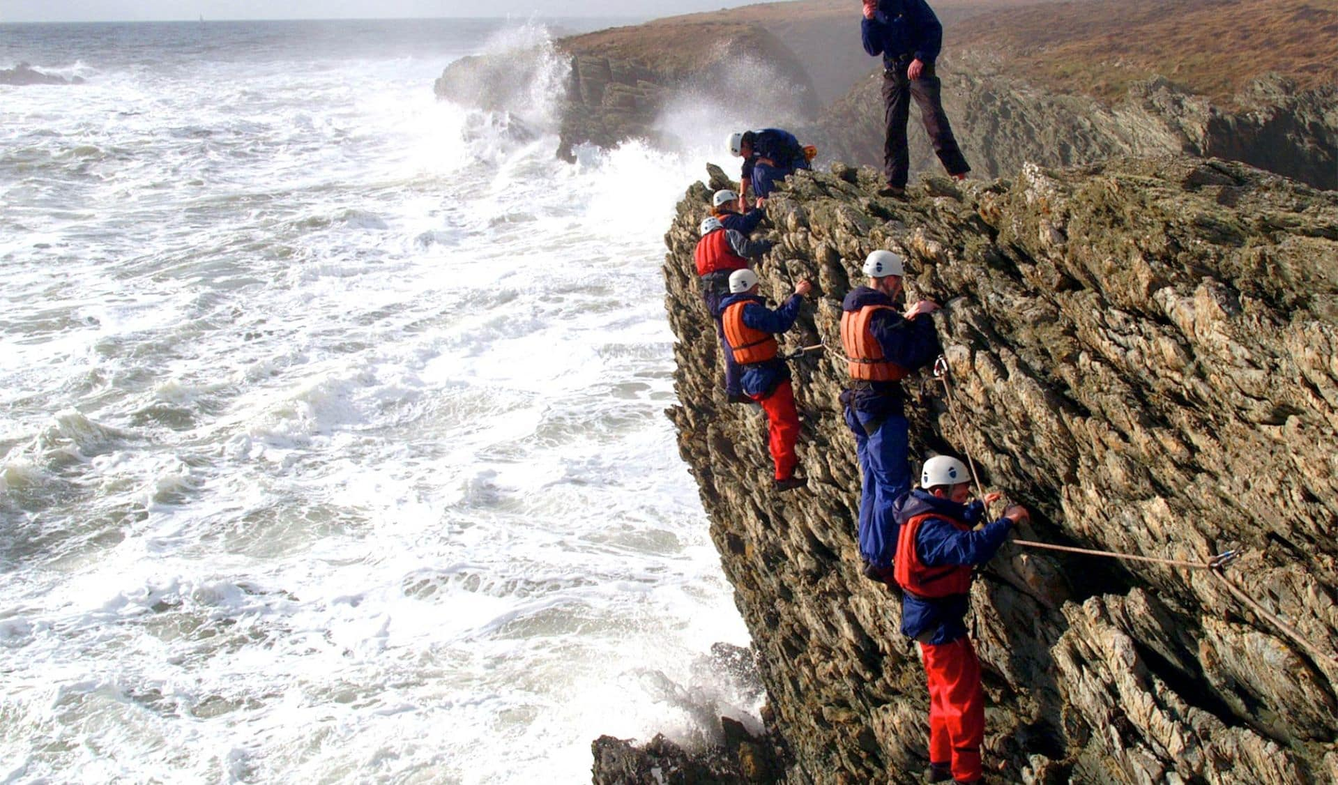 coasteering training